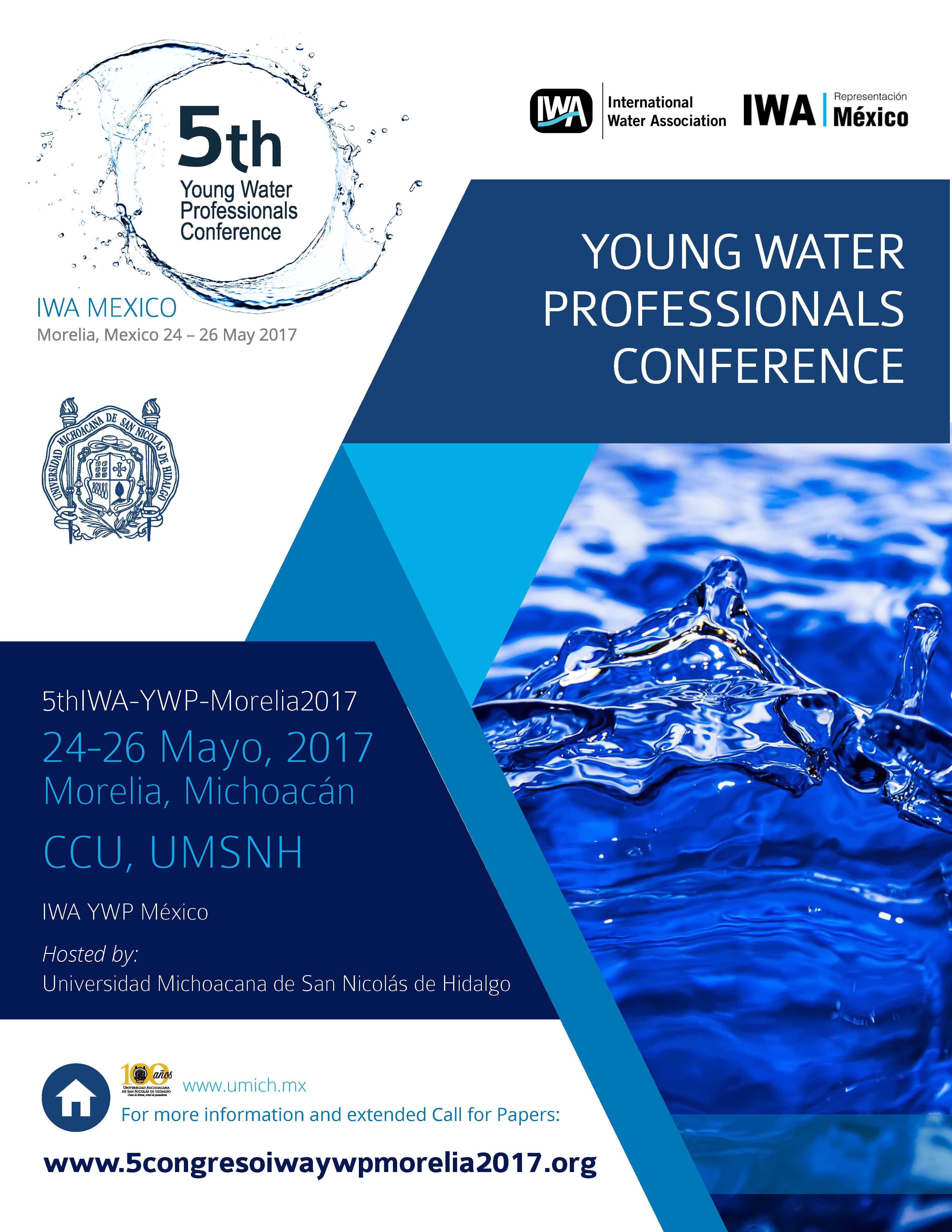 5th Young Water Professionals Conference Mexico